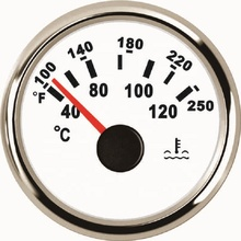 52mm Water Temperature Gauge <strong>Meter</strong> 40-120 Degree For Boat Car Auto