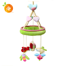 Baby Crib Music Mobile with Hanging Plush Animal Toys