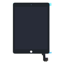 9.7 inch LCD with camera for iPad Air 2 LCD Display Touch Screen Digitizer Black A1566 A1567