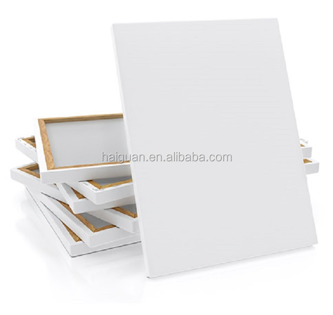 High Performance Blank Stretched Canvas Gallery Wrapped Canvas