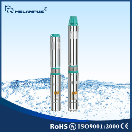 4 Inch 100qj Stainless Steel Helanfus Submersible Pump