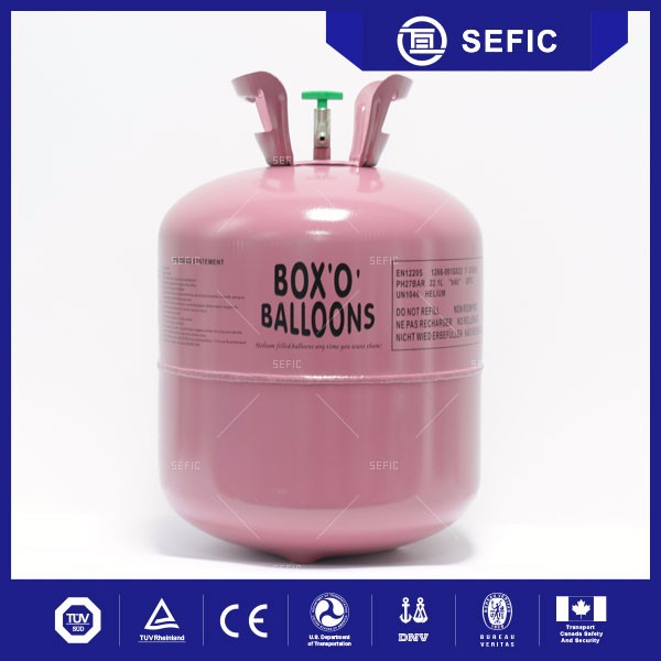 Easy Operation Helium Tank Balloons Gas Cylinder For Egypt