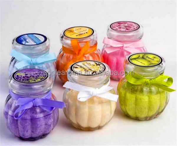 Wholesale colorful scented wax candle glass jar candle for What are the best scented candles to buy