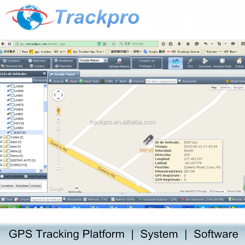 Cell phone gps tracking software with andriod and IOS app
