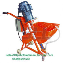 Construction Supply multi-function and fast plastering rendering putty sprayer