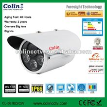 China professional supply of 60m long distance cctv camera adopt oversea big iris lens camera