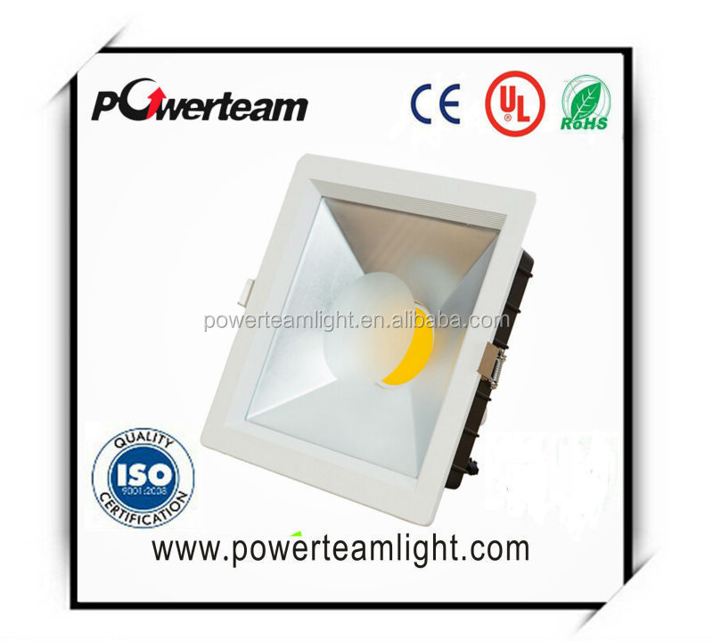 COB 5W 10W 15W led downlight Down light 85~265V Square Panel Lights Bulb Lamp Extra Bright recessed quality assurance CE RoHS