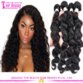 Brazilian Hair Wholesale Distributors Loose Wave No Tangle No Shed Human Hair Weave Loose Wave Bundles