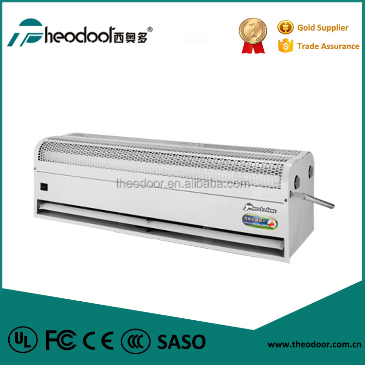 Water Source Heating Air Curtain By Fan Coil design