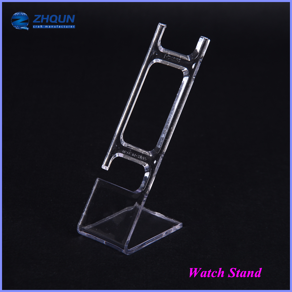Stand Acrylic Decoration Holder Shop Exhibition Cuff Pillow Plastic Display Watch
