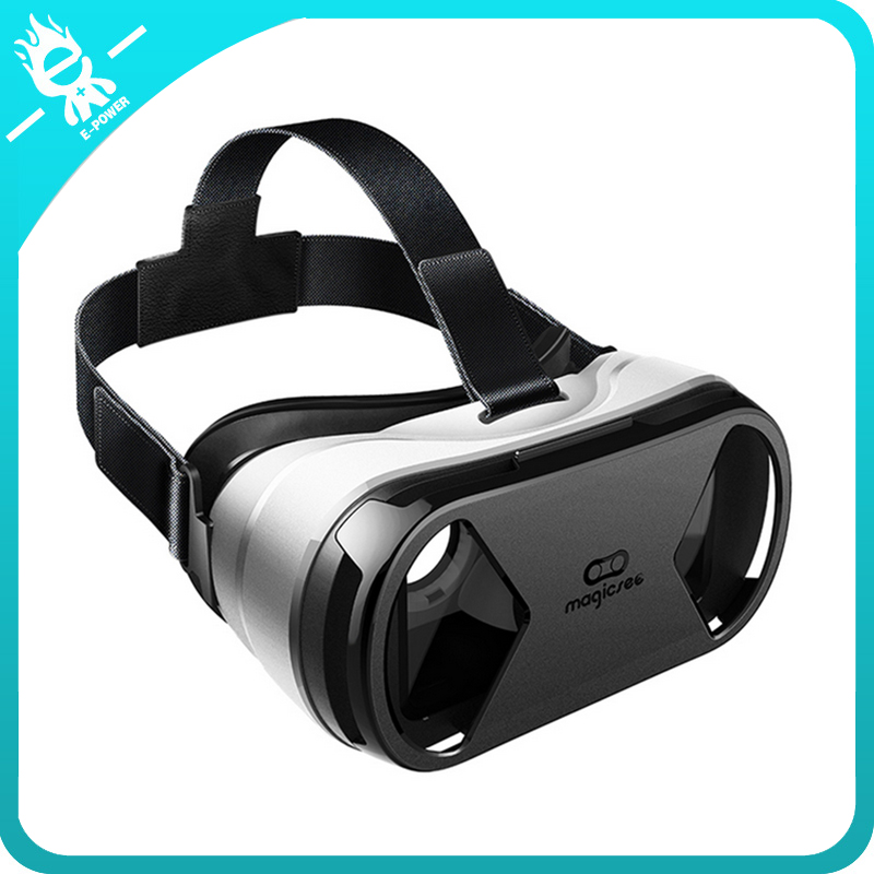 2016 virtual reality Head mount 1.0 3D vr headset vr case with bluetooth remote controller