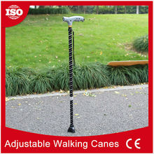 Custom made telescoping walking canes led light cane