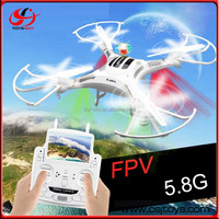 Best Christmas Gift Hot Selling Drone Professional 2.4G 4 CH RC Flying Toy With HD Camera lcd Screen Remote dislay