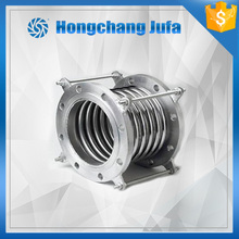 CS or SS flange end metal bellow pipe expansion joint carbon steel