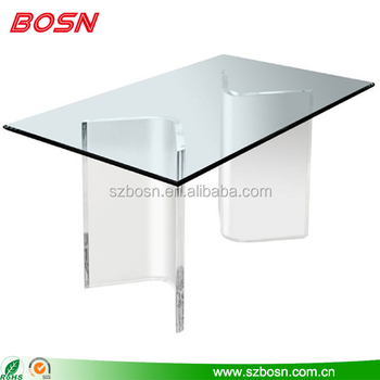 Acrylic modern concise table