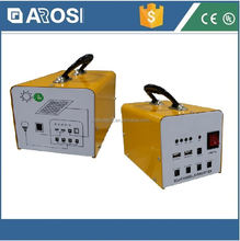 2016 hot sale Arosi solar power bus 10w 7ah poly mini system with CE and ISO