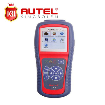 Auto diagnostic Code reader Autel Autolink AL419 OBDII CAN Scan Tool with TFT Color Screen Code Reader Troubleshooter code tips