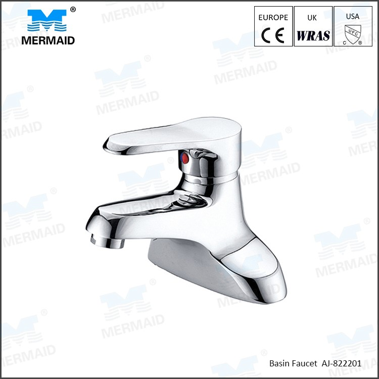Classic design wash basin faucet deck mounted ceramic basin faucet for bathroom Vanity basin mixer taps