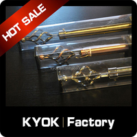 KYOK Home decoration curtain rod wholesale,extendible curtain poles,flexible curtain rod with PVC box