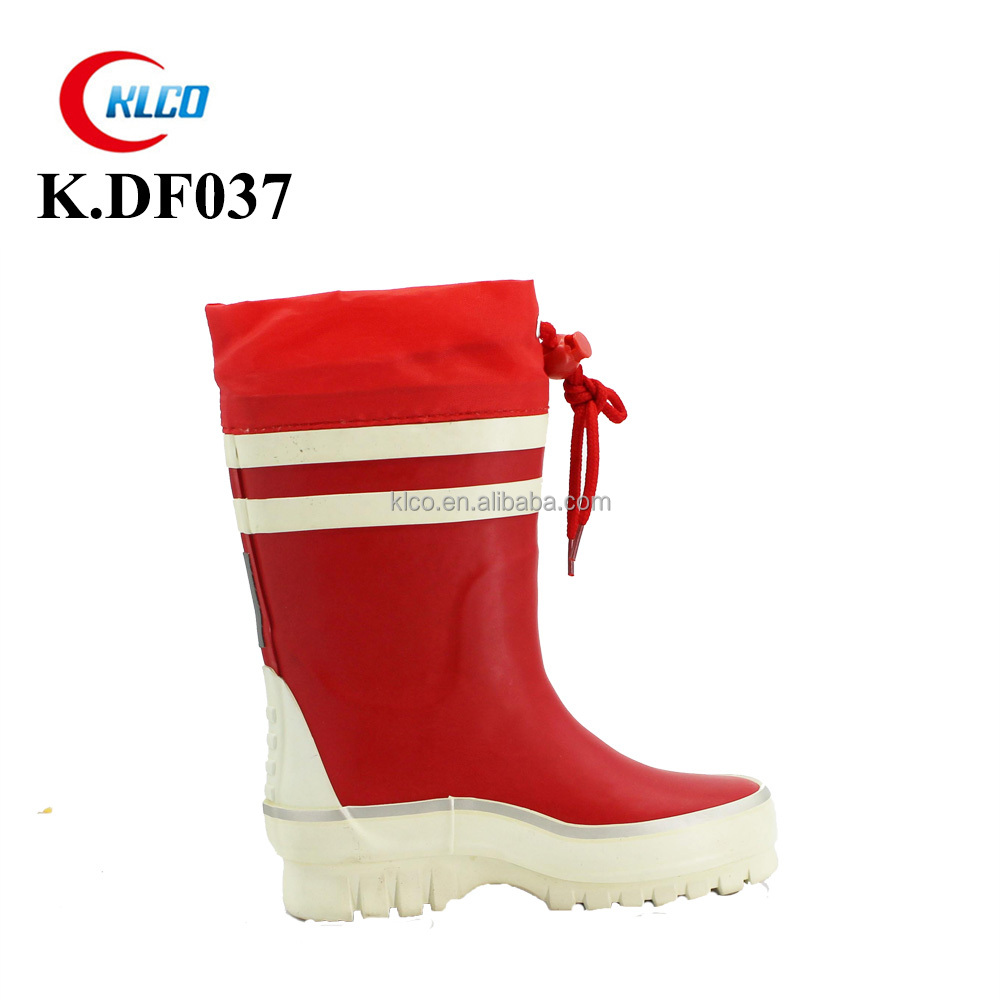 2017 excellent fashion unisex custom printed rain boots rubber