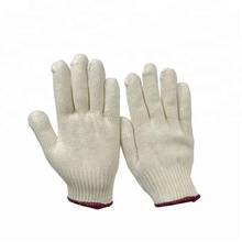 7 gauge cotton knitted cold winter wheelchair gloves