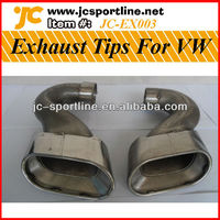 Exhaust Muffler Tips/Exhaust Pipe For VW Touareg 2007