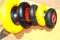 High Performance and Strong Solid Pu Wheel 16''x4.80/4.00-8