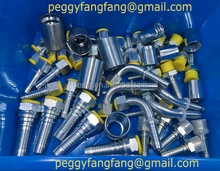 hydraulic high pressure rubber hose fittings pipe fitting metric DK, DKJ,DKI, DKOL, DKOS, ORFS, BSP, JIC,FL, INTERLOCK fittings