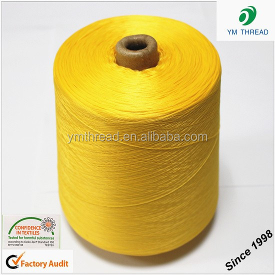 Dyed 100% Polyester Filament Yarn 75D 150D 300D