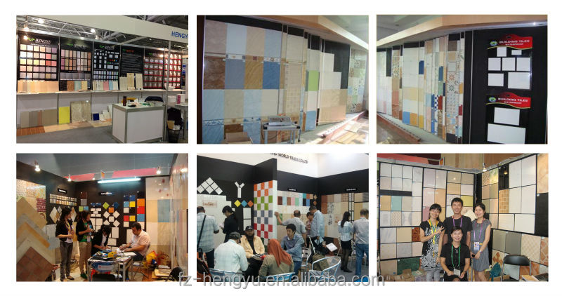 300x600mm waterproof embossing rectified wall tiles