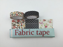 Decorate Colorful Adhesive cotton fabric tape