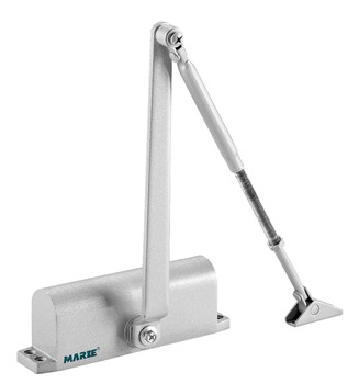 EN4 Positioning round with two way 2604/2604D Door Closer