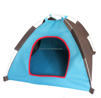 foldable pet tent small dog kennel folding camping tent cat house durable pet cage water proof dog bed pet teepee