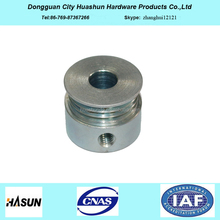Huashun CNC Machining Spare Parts, CNC Lathe Machining Service, Metal Part From CNC Machining Center