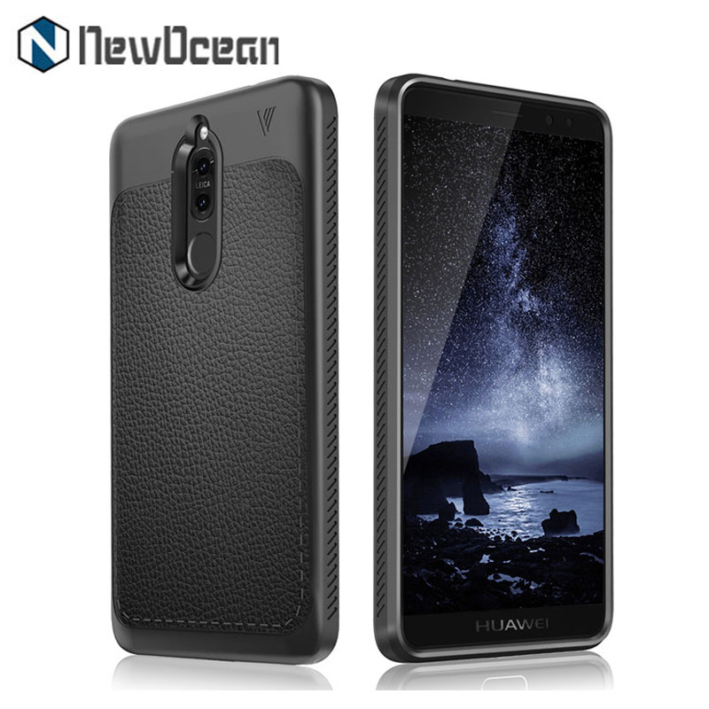 For Huawei Maimang 6 New design litchi leather TPU mobile cover phone case for Huawei Mate 10 lite