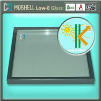 Best Price light-red hard-coated energy advantage Low-e insulated glass