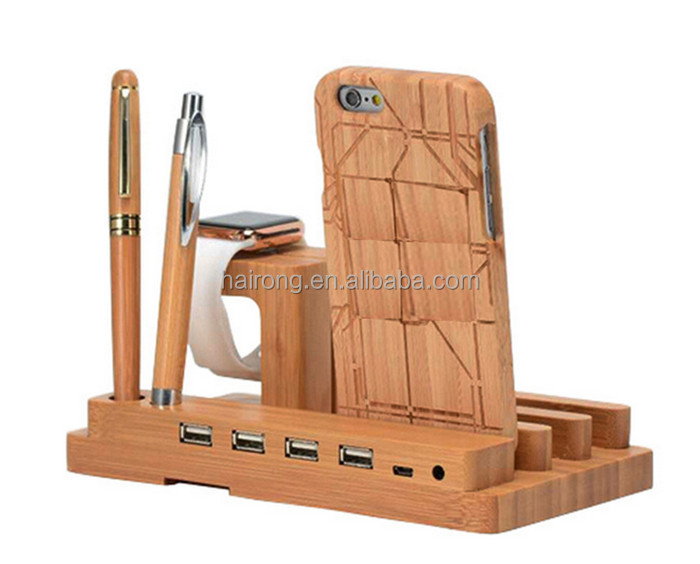new products 2016 wholesale bamboo wooden funny cell phone holder for desk charging phone card holder stand for iphone ipad