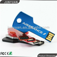 Metal Key USB Flash Drive 64GB Memory Stick Disk Thumb drive