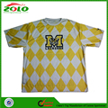 Hight Quality Professional Custom Sublimation Men's Lacrosse Shooting Shirt