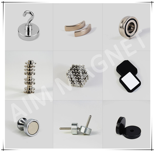 Neodymium Pot / Cup Magnet with Countersunk hole