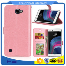 PU Back Cover Case for LG F770 X5 ,Credit Card Slot Wallet PU Leather Phones Case for LG F770 X5 Case
