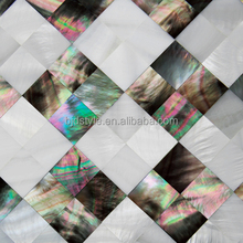 Shell Mosaic Paper Mother Of Pearl Mosaic Tiles Shell Sheet