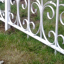 Anodized Decorative Aluminum Fencing