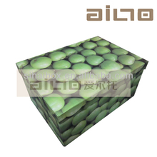 apple fruit design decorative cardboard storage container,paper box