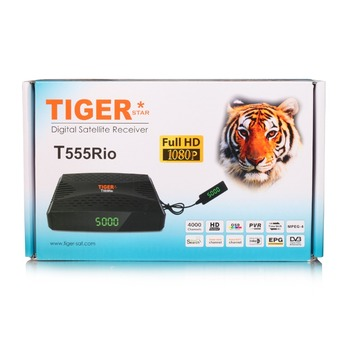 Most Popular Tiger Mini Full HD TV Digital Satellite Receiver Model T500 Rio