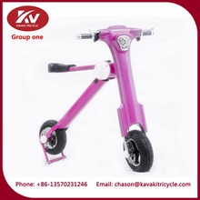 Guangzhou KAVAKI suppliers 36V folding adult tricycle electric scooter