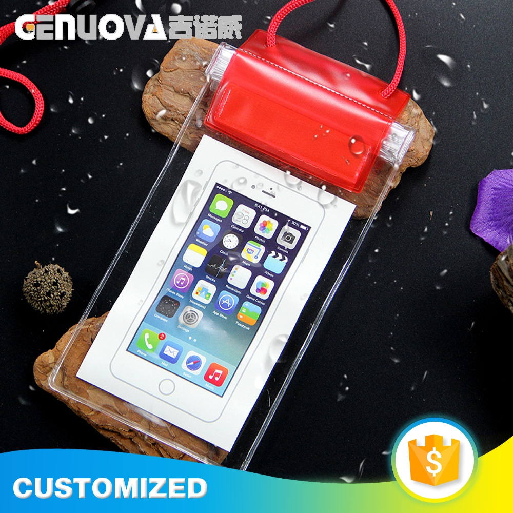 Factory customized outdoor waterproof cell phone dry bag