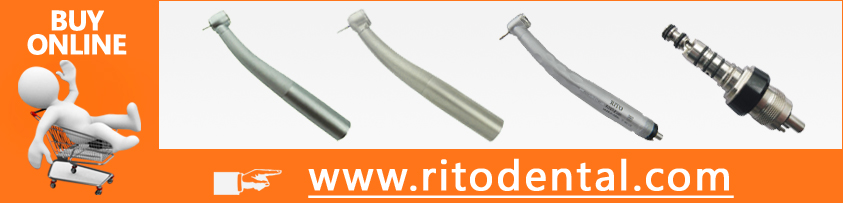 RT04-L Fiber Optic handpiece/Large Torque/Coupling Same as Kavo