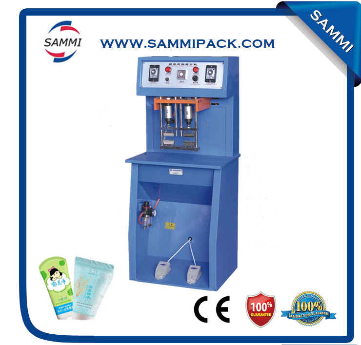 Semi-Automatic Electric Driven Type aluminum laminated tube sealing machine