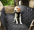 Nylon dogcar seat cover polyester pet car cover 600d pet car cover